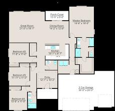 lexar 2350 single level 4 bed 2 5 bath house plan ideas