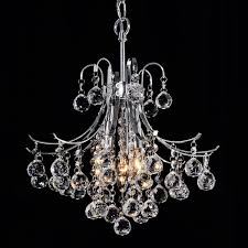 cute crystal chandelier lighting for small home decor inspiration