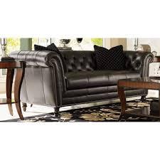 Trump Home Westchester Leather Chesterfield Sofa Furniture I - Trump home furniture