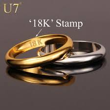 wholesale gold rings images Wholesale gold rings with 18k stamp quality real gold plated women jpg
