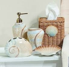 bathroom seashell decor home design ideas and pictures