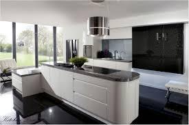 kitchen white kitchen peninsula black countertop airmaxtn