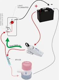 how to wire a bilge pump simple hand off auto switch wiring