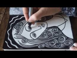 how to draw doodle faces asmr madonna doodle asmr drawing sounds doodle tangle tingle