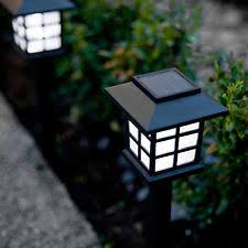 High Quality Solar Landscape Lights Garden Lantern Ebay