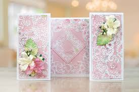 ornamental easel card tld0265 tattered lace