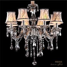 Grey Glass Chandelier Compare Prices On Grey Crystals Chandelier Online Shopping Buy
