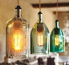 lights made out of wine bottles bottle cutting grate bites