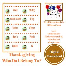 printable thanksgiving who do i belong to loud