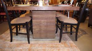 Solid Walnut Dining Table And Chairs Dining Set Round Kitchen Table And Chairs Crate And Barrel