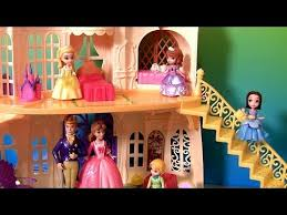 sofia magical talking castle disney princess amber
