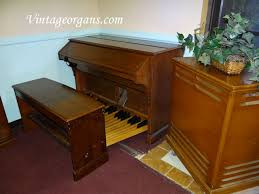 Organ Bench Vintage Hammond Church Organs Rt3 Scratch U0026 Dent With Non