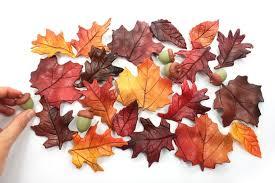 fall leaves u0026 acorns wedding cake topper sugar paste realistic