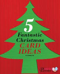 simple christmas card ideas for kids christmas lights card and