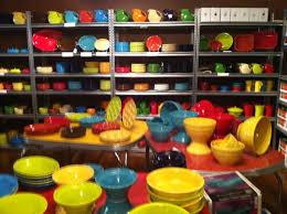 fiestaware egg plate dinnerware