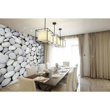 brewster 118 in x 98 in pebbles wall mural wals0038 the home depot pebbles wall mural