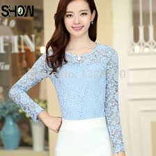 light blue top women s aliexpress com buy free shipping fashion formal office wear