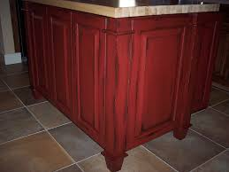 kitchen cabinet glazing the red paint is ralph lauren u0027s venetian red th49 the black paint