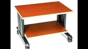 Under Desk Printer Stand With Wheels Under Desk Printer Stand Wood Best Home Furniture Decoration