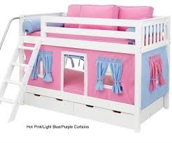 Bunk Beds Pink Maxtrix Bunk Bed Tents For Pink Light Blue Purple 3220