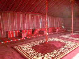 desert camping in kuwait daybed and moroccan