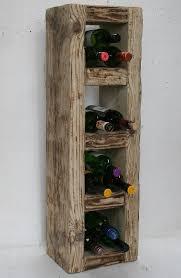 reclaimed solid wood wine rack 16 bots rustic c folksy