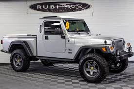 jeep hardtop custom pre owned 2006 jeep wrangler rubicon brute conversion silver