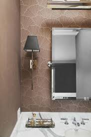 Bathroom With Wallpaper Ideas by 27 Best Bathroom Mirrors Images On Pinterest Bathroom Mirrors