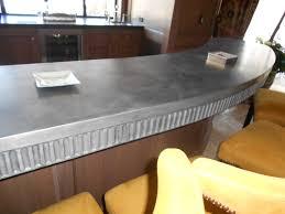 Zinc Kitchen Island - cabinet zinc kitchen countertop zinc countertop bastille metal
