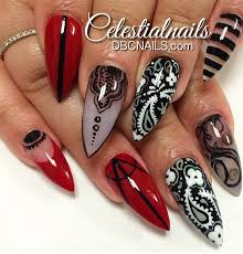 another vamp design by celestialnails on instagram nailed it