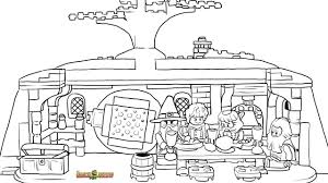 lego the unexpected gathering coloring page printable sheet