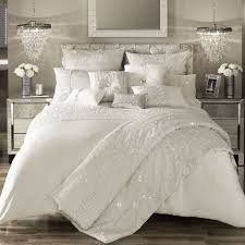 kylie minogue at home darcey oyster sequins satin duvet cover