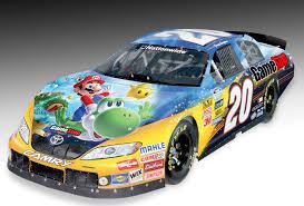 galaxy car paint mario hits the track u2013 nintendo okie