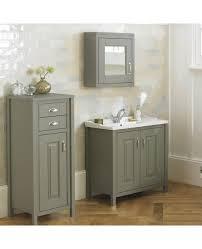 Free Standing Vanity Units Bathroom Braxton Stone Grey 810mm Traditional Freestanding Vanity Unit