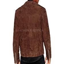 leather bike jackets for sale suede asymmetric biker jacket for men