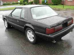 Used Black Mustang Sell Used Black 1991 Ford Mustang Lx 5 0 Notchback Automatic Only