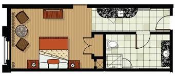 parc soleil orlando floor plans studio floor plan for parc soleil hotel by hilton grand vacations