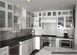 Stone Kitchen Backsplash Plushemisphere Black And White Backsplash Contemporary 18 Black And White Kitchen