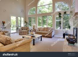 great room vaulted ceilings stock photo 35008219 shutterstock