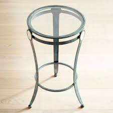 Teal Accent Table Midford Iron Teal Accent Table Pier 1 Imports