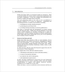 catering business plan template u2013 13 free word excel pdf format