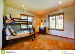 Two Floor Bed Kids Room With Two Level Bed Stock Photo Image 39984950