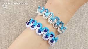 make bracelet macrame images How to make a macrame bracelet with waves and beads jewelry jpg
