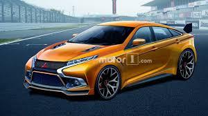 mitsubishi evo imagining a future in which the mitsubishi evo is still a sedan