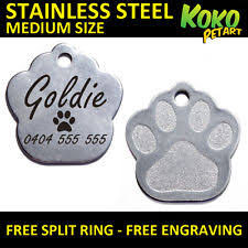 Personalized Dog Tags For Couples Dog Tags U0026 Charms Ebay