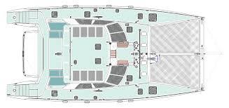 Catamaran Floor Plans by Devilliers Fwd Cockpit Cat Aluminum Ketch Rigged Yacht Yacht
