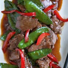 cuisine steak stir fried pepper beef with mangetout the foodie