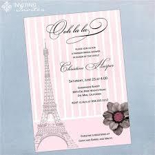 eiffel tower invitations eiffel tower bridal shower invitations kawaiitheo