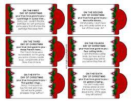 silly 12 christmas printable tags u2013 family crafts