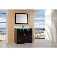 40 Inch Bathroom Vanities by Design Element Dec061 Aria 40 Inch Modern Bathroom Vanity